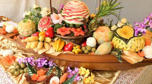 Thai Curved Food